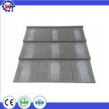 La resistencia de la nieve de chip de piedra de la hoja de metal revestido de azulejos de techo de madera