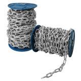 304 316 acier inoxydable DIN763 Longue chaîne de liaison de 4 mm de diamètre
