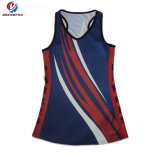 良質の卸売のレディースのためのカスタム適性の袖なしのスポーツのチアリーディングの均一摩耗