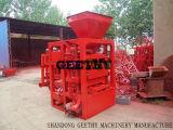 Concreet Blok die Machine in het Stevige Blok die van Tanzania maken Qtj4-26 Machine maken