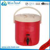 Gaststätte-beweglicher Transport-Luftblasen-Tee-Zylinder mit flacher Unterseite