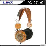 Écouteurs Bruit-Annulants de stéréo en bois de configuration
