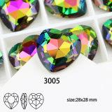 Crystal Gemstone Cordão de pedra de fantasia para decoração de jóias
