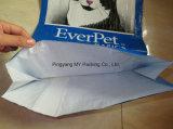 Abitudine che impacca il sacchetto di alimentazione laminato BOPP tessuto pp dell'animale domestico