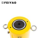 Cilindro idraulico a semplice effetto di sollevamento Jack di alto tonnellaggio di telecomando