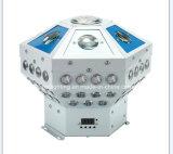 Gobo neuf d'arrivée, laser, éclairage d'effet de l'hexagone DEL du signal d'échantillonnage 4in1 de faisceau grand