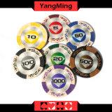 La Arcilla europea fichas de póquer (YM-CY01).