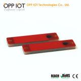 원료 공정 공업을%s PCB UHF RFID 금속 꼬리표 ISO1800-6c