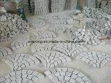 Cobble Steen op het Blad van het Netwerk, de Kei van het Graniet, de Steen van de Kubus voor Tuin buiten