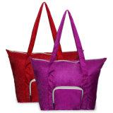 Mehrfachverwendbares Nylon-Polyester-faltende Einkaufstasche zum Beutel
