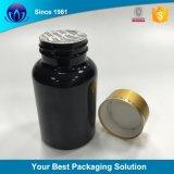 Le fiale superiori di schiocco hanno munito il recipiente di plastica di /Small delle bottiglie di pillola della protezione dello schiocco della plastica/vaso di cardini opachi medici