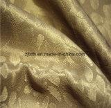 2018 le plus chaud rideau d'impression d'or tissu décoration de l'hôtel à Tongxiang