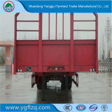 Ladung-/Behälter-Transport-Flachbett-halb Schlussteil mit hochfester mechanischer Aufhebung