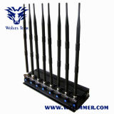8 Jammer GPS WiFi телефона полос регулируемый мощный многофункциональный 3G 4G (4G LTE + 4G Wimax)