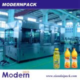 3 인조 과일 주스 채우는 생산 라인 또는 음료 펄프 충전물 기계