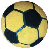 Bille de football officielle piquée par machine de promotion de la taille 5 pour le Dartboard