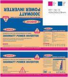 Niedriger Preis Gleichstrom zu Wechselstrom weg Energien-dem Inverter von des Rasterfeld-24V 220V 3000W