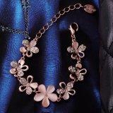 Bijou Shaped d'imitation de bracelet de fleur de bijou de femmes de mode