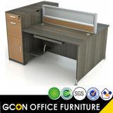 家具の現代オフィスの区分の販売のためのモジュラー事務机のメラミン