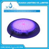 Luz subaquática montada superfície da piscina do diodo emissor de luz da multi cor 12V