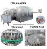 Linha de enchimento líquida automática da planta de engarrafamento da embalagem do frasco do animal de estimação da bebida do chá do suco para 2000bph 3000bph 15000bph 18000bph