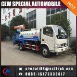 싸게! 2cbm 판매를 위한 녹색 물 탱크 살포 트럭