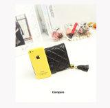 Carteira do cartão do grampo do dinheiro do plutônio das mulheres do desenhador de moda da fábrica de Guangzhou