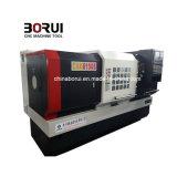 대규모 중국은 2 축선 11kw CNC 선반 공작 기계 장비를 공급한다