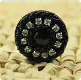 """Кнопка Rhinestone черного цвета украшают строку швов"""" аксессуары для одежды"""