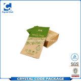 Sac de papier de nourriture imperméable à l'eau latérale de gousset