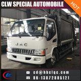Camion d'ordures de compacteur de collecte des déchets de JAC 4cbm 3cbm