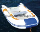 Hypalon Liya 2-6 Pessoa Família barco inflável China Jangada de Pesca