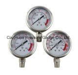Ventes en gros d'indicateur de pression d'acier inoxydable
