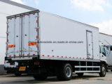 Camion vaccinique Van frigorifié par vente chaude de transport de lait de 4*2 Isuzu