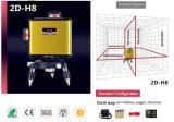 360 Zeile Laser-Stufe des Grad-Rot-8 für Lay-out-Arbeit