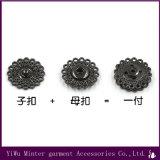 Metallschnelltaste, die für Umhüllungen-Kleid-Zubehör näht