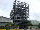 Здание ферменной конструкции относящого к окружающей среде содружественного Multi здания стальной структуры полов стальное