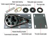 Del lado de obturador de rodillos eléctrico motor de la puerta de rodadura