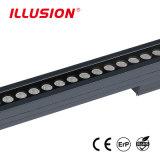 DMX制御を用いる屋外LEDの壁の洗濯機を変形させる36W IP67アルミニウムRGBのカラー
