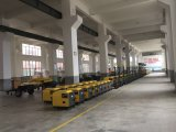 Beleuchtung-Aufsatz-Chassis-Laufkatze der Diesel-oder Treibstoff-Generator-bewegliche Handkurbel-LED für Hochbau