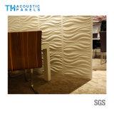 Panneau de mur acoustique décoratif amical du polyester 3D d'Eco/panneau de plafond