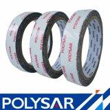 Adhesivo de alta a doble cara cinta de espuma de PE negro blanco en el marco de fotos