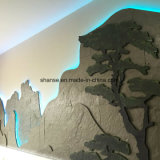 Installation facile pour carrelage mural blanc décoration commerciale