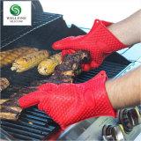 Luvas de forno de cozinha de silicone, à prova de cozinha e Luva de silicone de alta temperatura