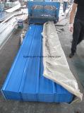 판매를 위한 가득 차있는 단단한 PPGI 물결 모양 금속 루핑 장
