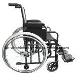 "Desbloquear rápido, pequeñas ruedas, sillón de ruedas manual de acero, Kbw871h-16 """
