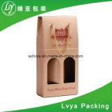 Plastiek die van de Levering van Alibaba het Goedkopere Karton Golf de Verpakkende Doos van de Wijn vouwen