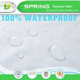 優れた防水まぐさ桶のマットレスの保護装置-抵抗力がある塵のダニの細菌
