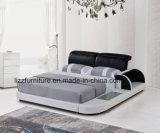 寝室の家具のための現代的な方法デザインLEDダブル・ベッド