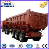 Tipper dos eixos 60ton 3/do descarregador carga do caminhão do trator reboque de serviço público Semi